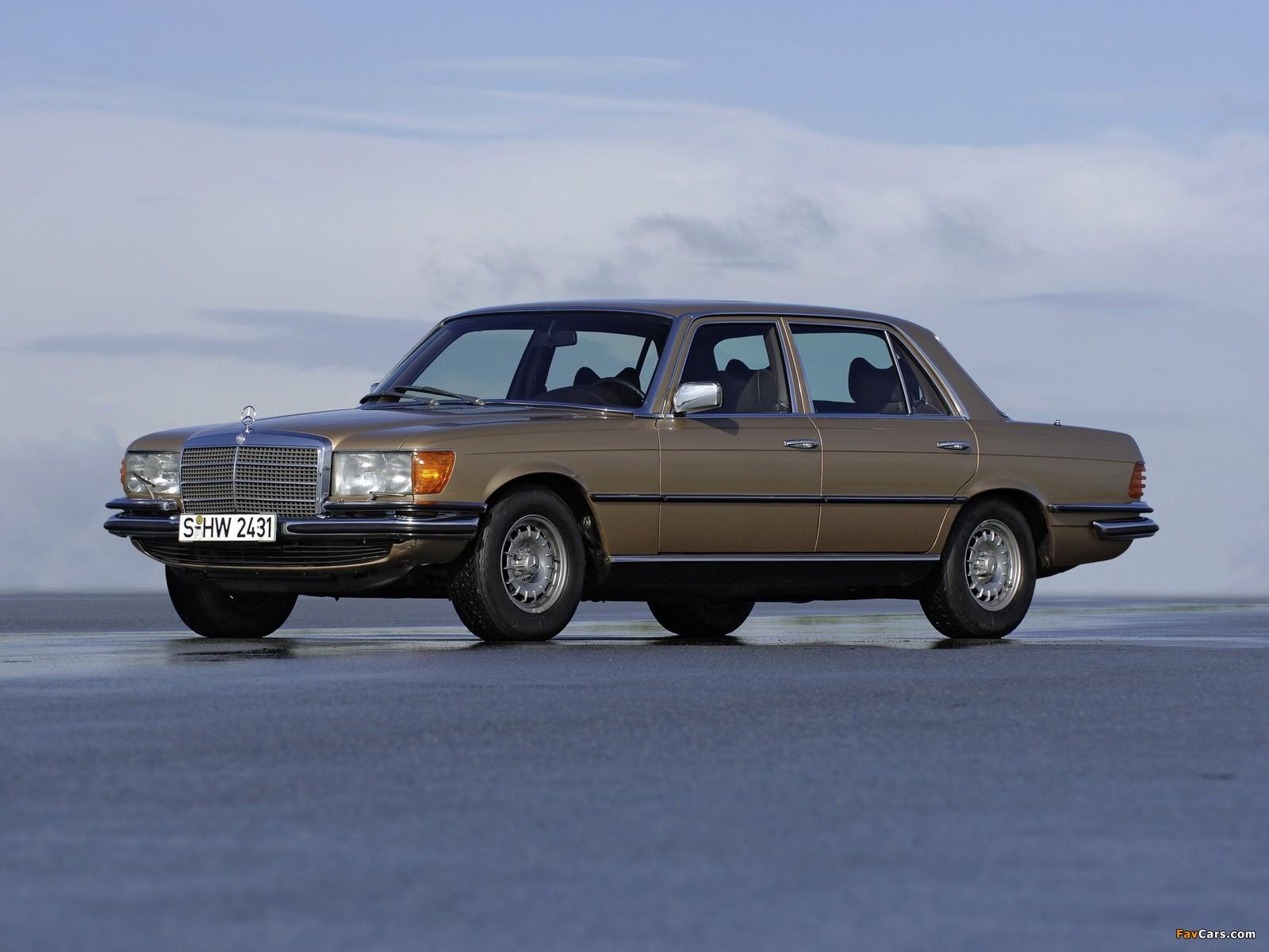 Mercedes-Benz 280 S (W116) 1972–80 pictures (1600 x 1200)