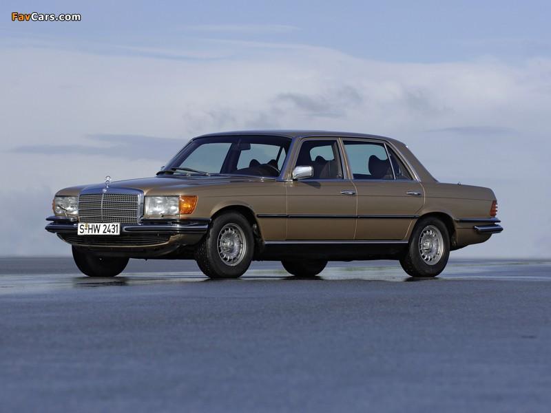 Mercedes-Benz 280 S (W116) 1972–80 pictures (800 x 600)