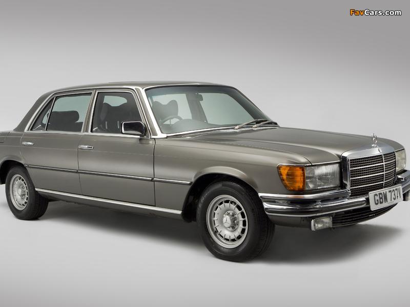 Mercedes-Benz 450 SEL UK-spec (W116) 1972–80 wallpapers (800 x 600)