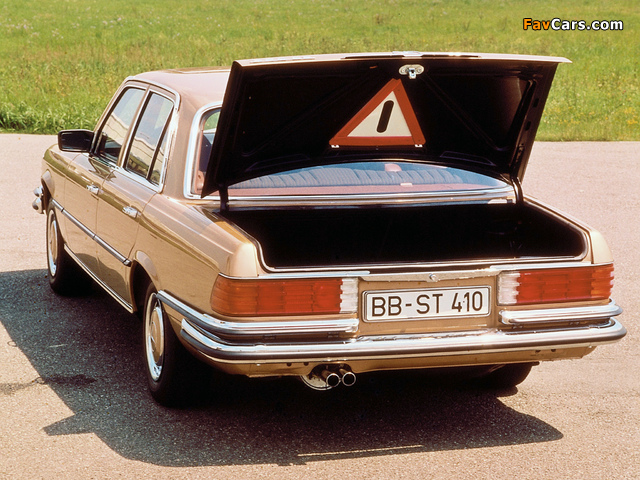 Mercedes-Benz 350 SE (W116) 1973–80 pictures (640 x 480)