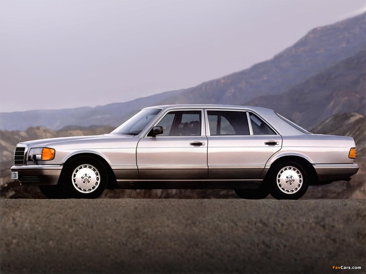 Mercedes-Benz S-Klasse (W126) 1979–91 photos (1280 x 960)