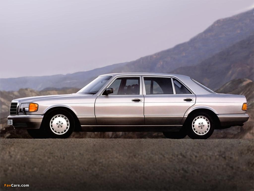 Mercedes-Benz S-Klasse (W126) 1979–91 photos (1024 x 768)