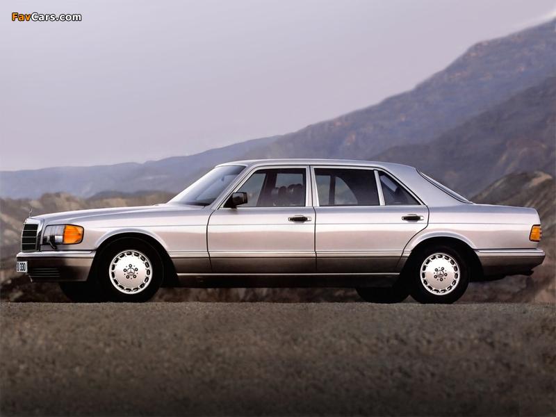 Mercedes-Benz S-Klasse (W126) 1979–91 photos (800 x 600)