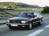 Mercedes-Benz 380 SEC (C126) 1981–85 images