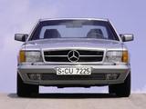 Mercedes-Benz 500 SEC (C126) 1981–91 photos
