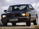 Mercedes-Benz S-Klasse Coupe (C126) 1981–91 wallpapers