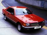 Mercedes-Benz S-Klasse Coupe UK-spec (C126) 1981–91 wallpapers