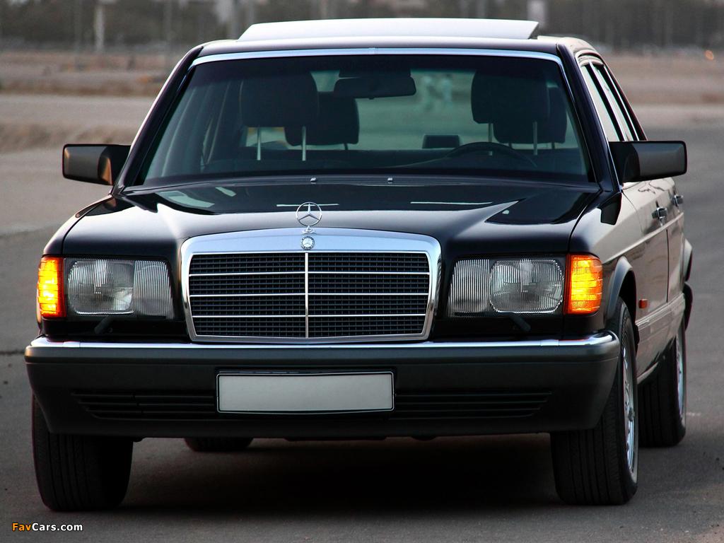 Mercedes Benz 560 Sel Us Spec W126 1985 91 Images 1024x768