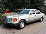 Mercedes-Benz 500 SEL Guard (W126) 1985–91 photos