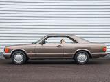 Mercedes-Benz 560 SEC (C126) 1985–91 photos