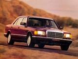 Mercedes-Benz 420 SEL US-spec (W126) 1985–91 wallpapers