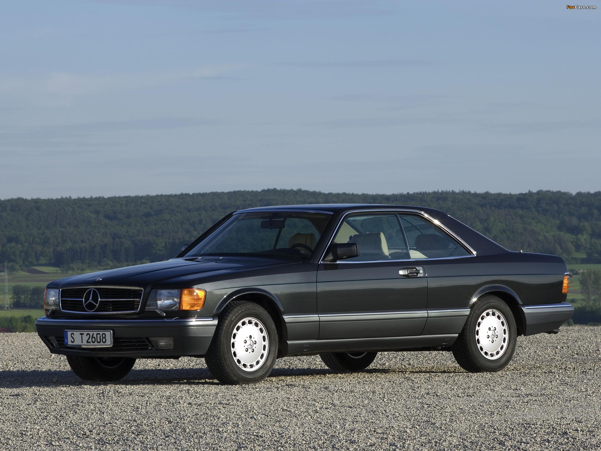 Mercedes Benz 560 Sec C126 1985 91 Wallpapers 2048x1536