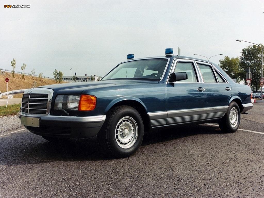 Mercedes-Benz 500 SEL Guard (W126) 1985–91 wallpapers (1024 x 768)