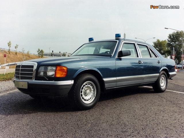 Mercedes-Benz 500 SEL Guard (W126) 1985–91 wallpapers (640 x 480)