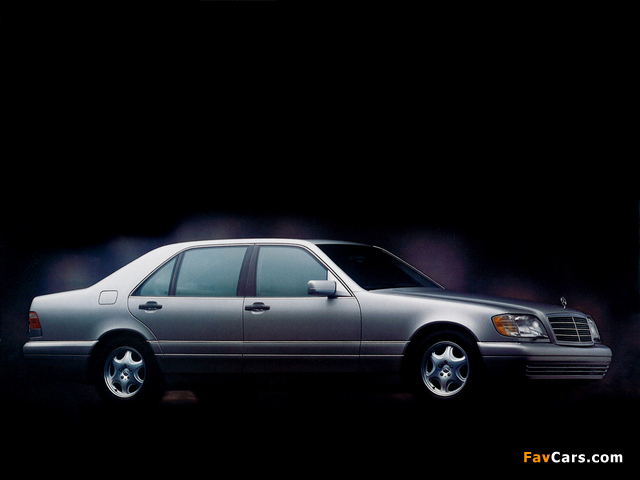 Mercedes benz s klasse w140 1991 98 images 640x480 for Mercedes benz service miami