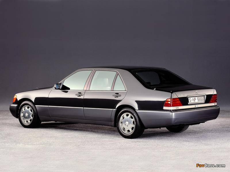 Mercedes-Benz 600 SEL (W140) 1991–92 images (800 x 600)