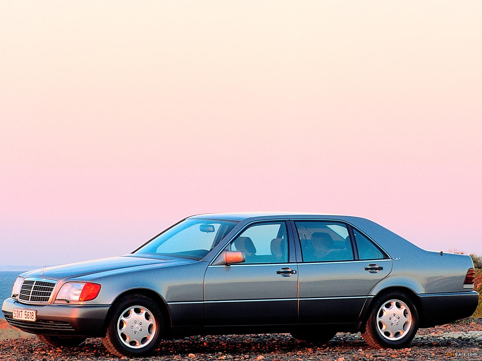 Mercedes-Benz 600 SEL (W140) 1991–92 images (1600 x 1200)