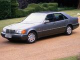 Mercedes-Benz 600 SEL UK-spec (W140) 1991–92 images