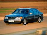 Mercedes-Benz 500 SEL (W140) 1991–93 images