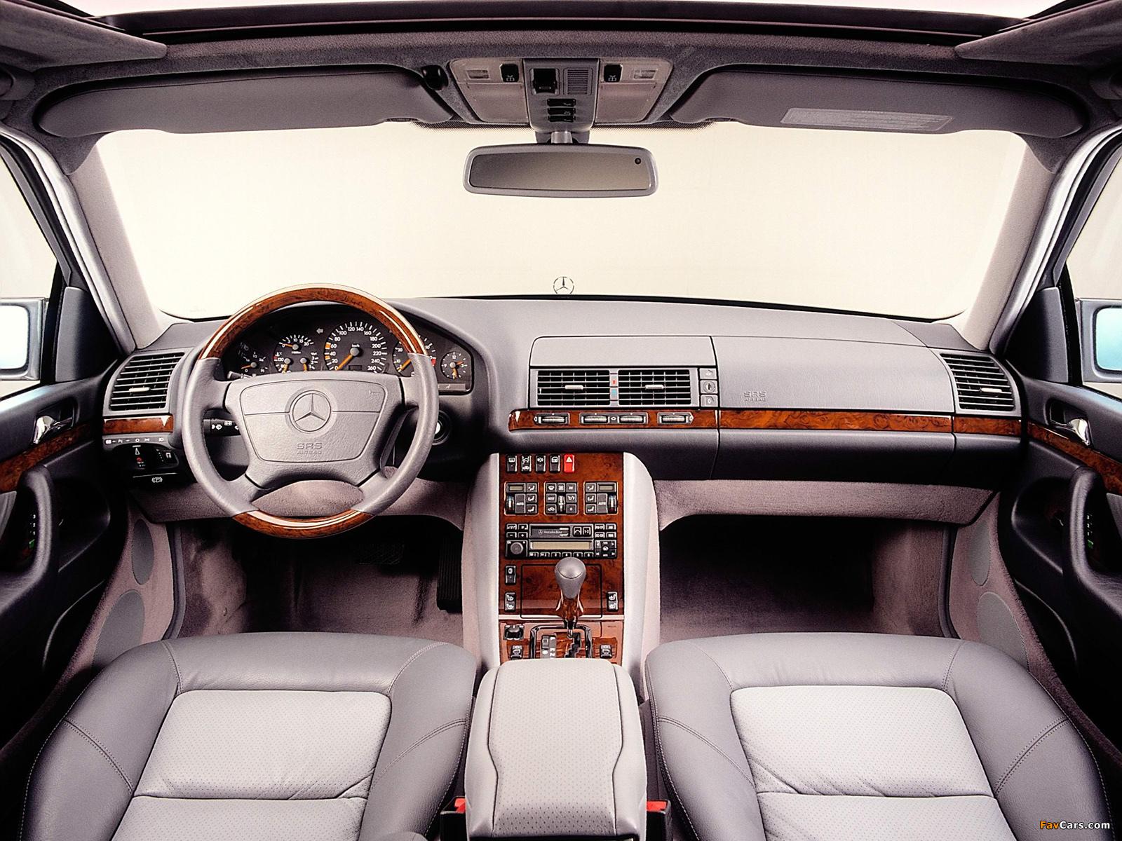Mercedes-Benz S-Klasse (W140) 1991–98 photos (1600 x 1200)