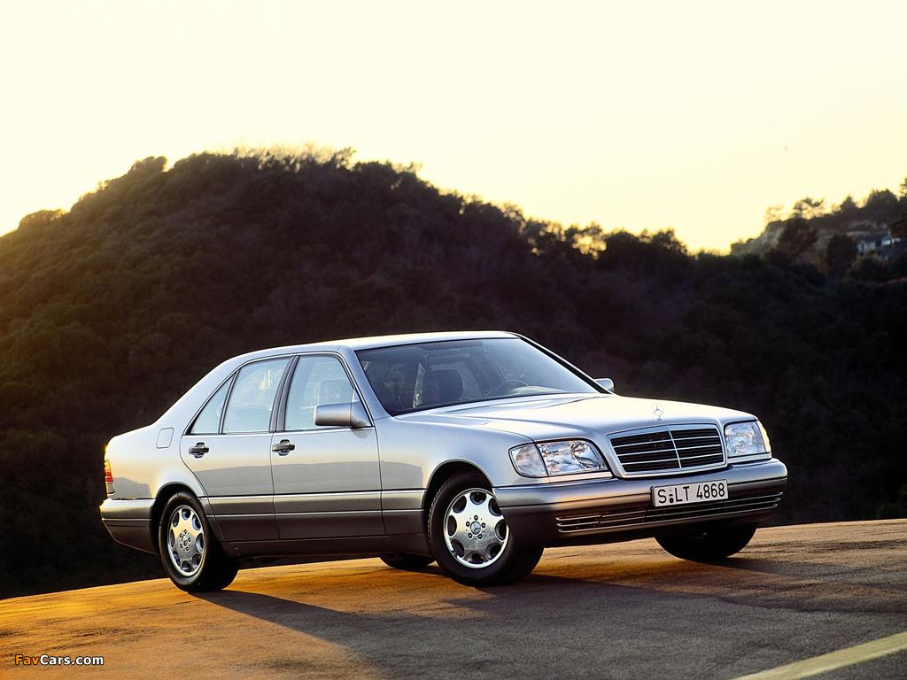Mercedes Benz S Klasse W140 1991 98 Photos 1024x768