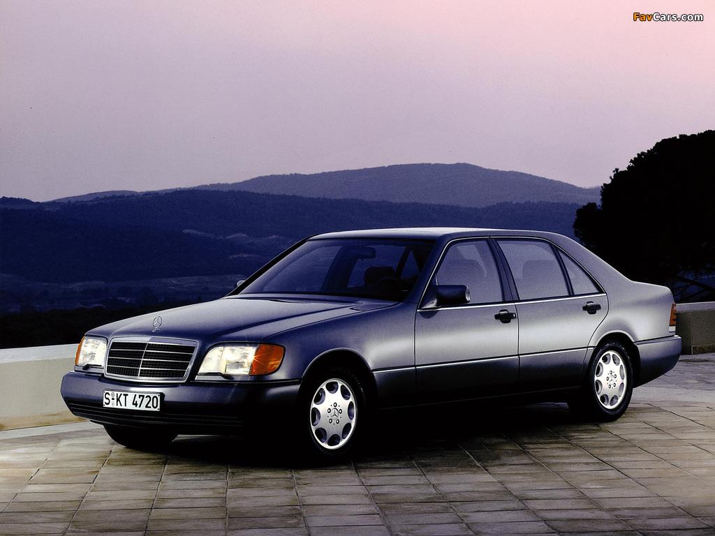 Mercedes-Benz 500 SEL (W140) 1991–93 photos (1024 x 768)