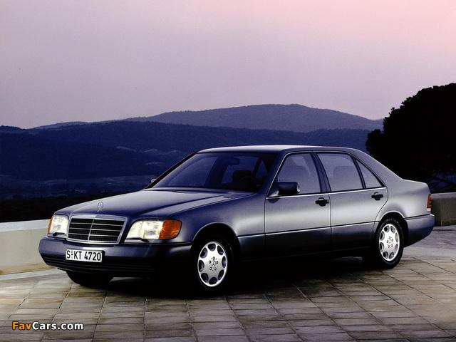 Mercedes-Benz 500 SEL (W140) 1991–93 photos (640 x 480)