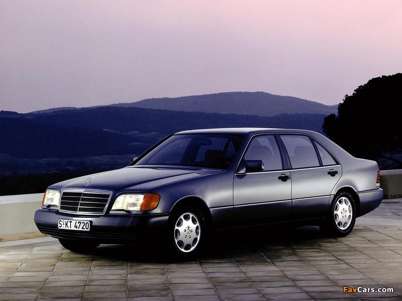 Mercedes-Benz 500 SEL (W140) 1991–93 photos (800 x 600)