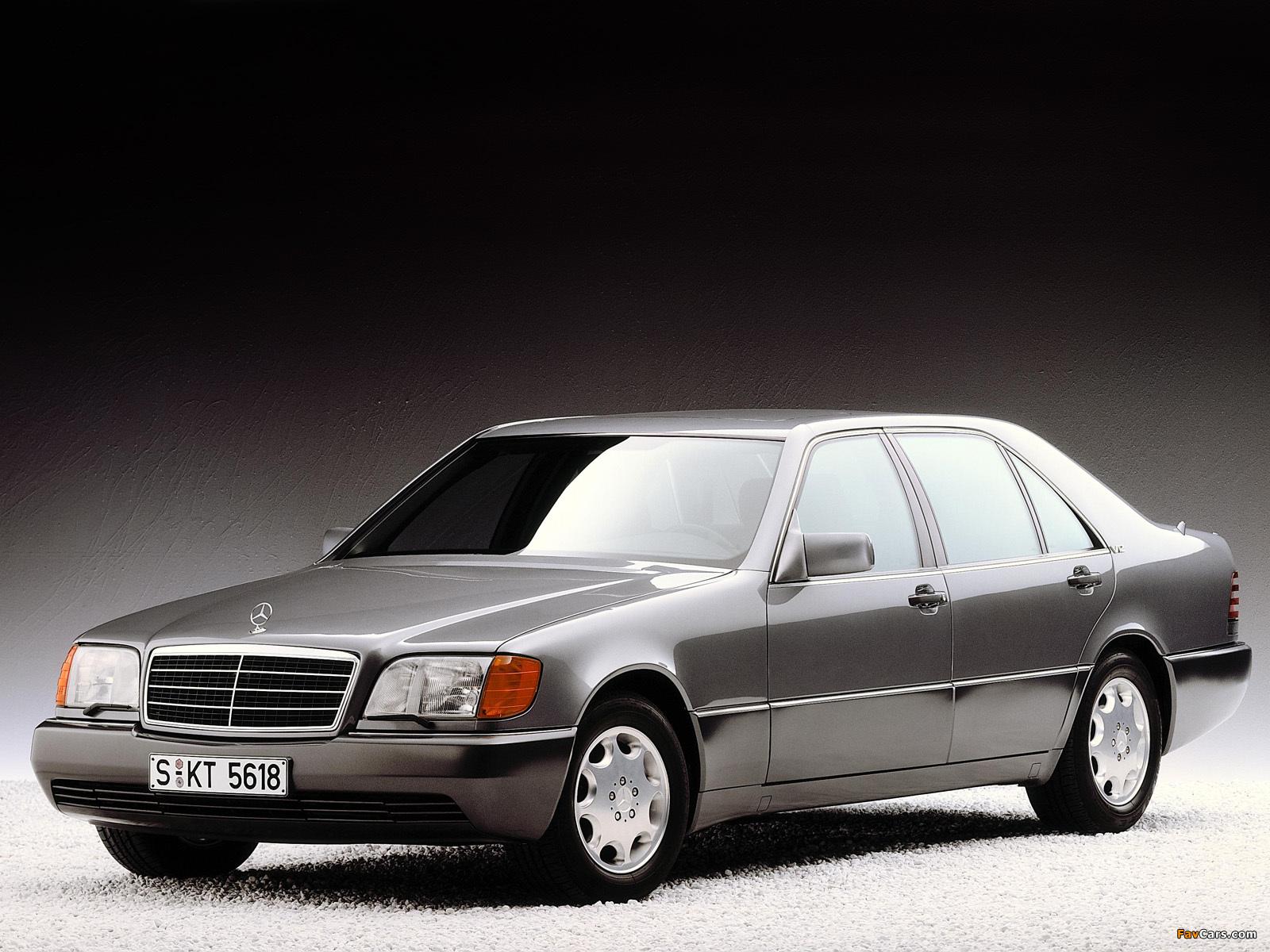 Mercedes-Benz 600 SEL (W140) 1991–92 photos (1600 x 1200)