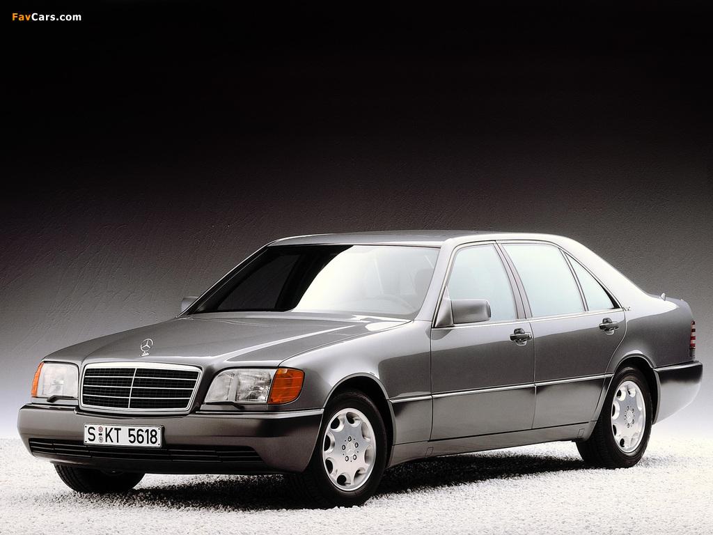 Mercedes-Benz 600 SEL (W140) 1991–92 photos (1024 x 768)