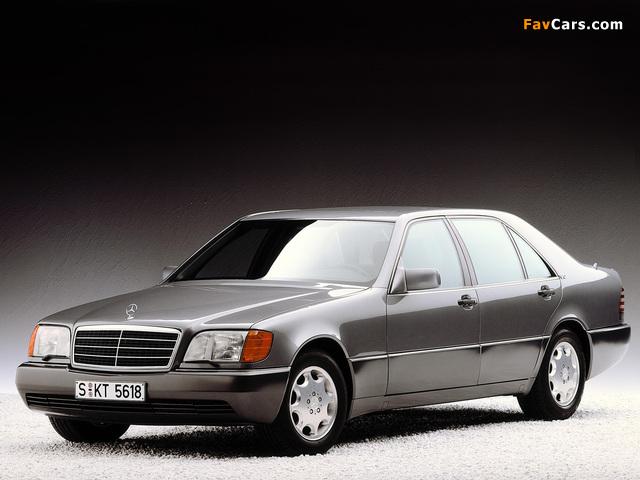 Mercedes-Benz 600 SEL (W140) 1991–92 photos (640 x 480)