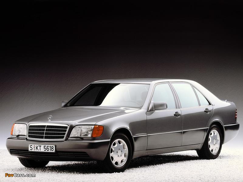 Mercedes-Benz 600 SEL (W140) 1991–92 photos (800 x 600)