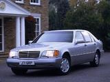 Mercedes-Benz 600 SEL UK-spec (W140) 1991–92 photos
