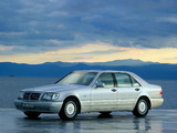 Mercedes-Benz S-Klasse (W140) 1991–98 pictures