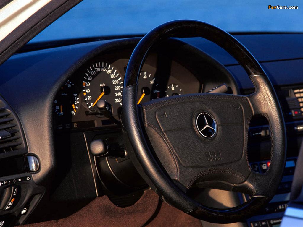 Mercedes-Benz S-Klasse (W140) 1991–98 wallpapers (1024 x 768)