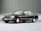 Mercedes-Benz S 600 L (W140) 1993–98 images