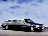Mercedes-Benz S 600 L Pullman Guard (V140) 1993–98 photos
