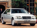 Mercedes-Benz S-Klasse UK-spec (W140) 1993–98 photos