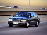 Mercedes-Benz S 600 (W140) 1993–98 pictures