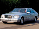 Mercedes-Benz S 300 Turbodiesel (W140) 1996–98 pictures