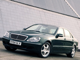 Mercedes-Benz S-Klasse UK-spec (W220) 1998–2002 images