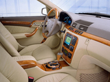 Mercedes-Benz S 600 Pullman (W220) 1998–2005 pictures