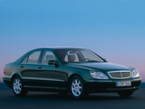 Mercedes-Benz S 500 (W220) 1998–2002 pictures