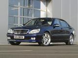 Brabus Mercedes-Benz S-Klasse (W220) 1998–2005 pictures