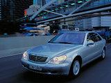 Mercedes-Benz S 500 L (W220) 1998–2002 pictures