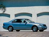 Mercedes-Benz S 320 (W220) 1998–2002 wallpapers