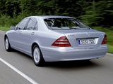 Mercedes-Benz S 400 CDI (W220) 1999–2002 images