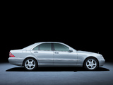 Mercedes-Benz S 400 CDI (W220) 1999–2002 pictures