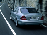 Mercedes-Benz S 55 AMG (W220) 1999–2002 wallpapers
