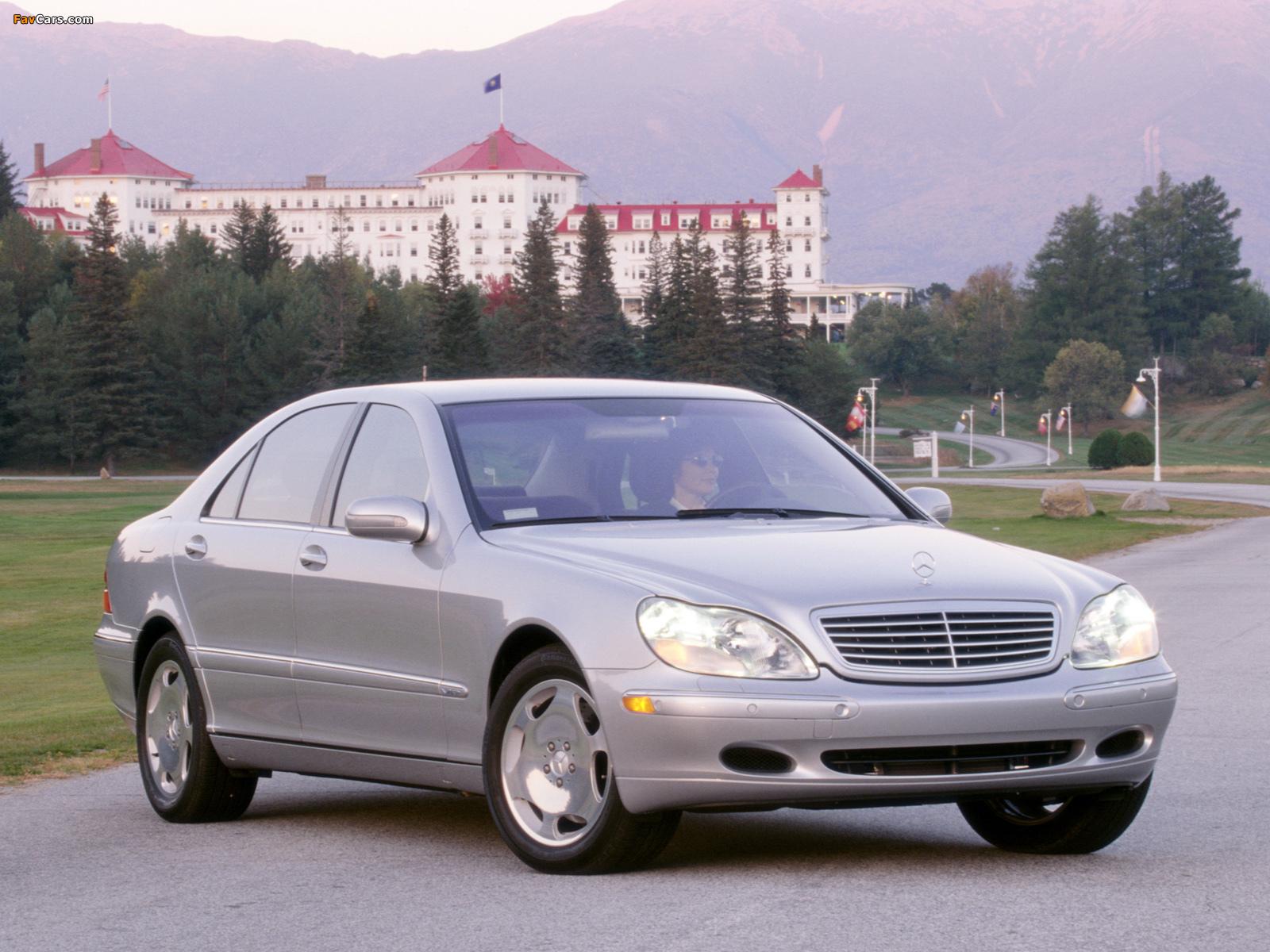 Mercedes-Benz S 600 US-spec (W220) 2002–05 images (1600 x 1200)